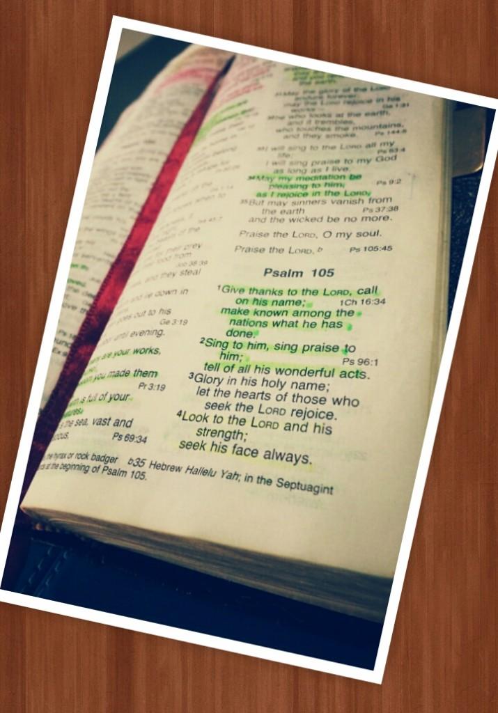 psalm 105:4 thammiesy.com