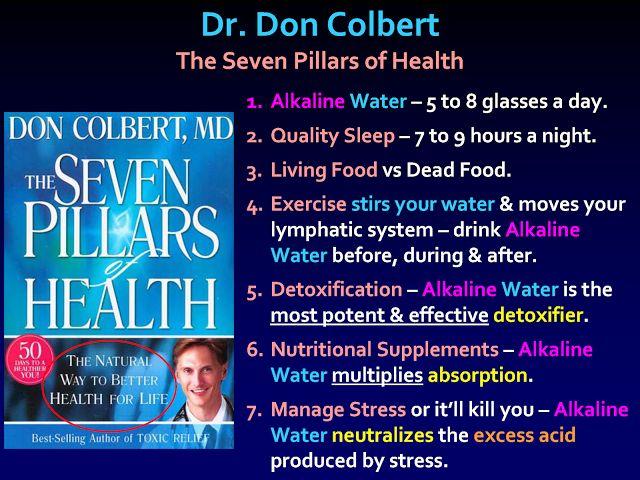 seven pillars of health dr. don colbert